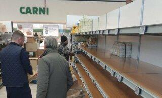 """Эстонская студентка в Милане: в магазинах пустые полки, в аптеках закончились медицинские маски, все ищут """"врагов народа"""""""