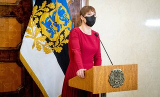 President Kaljulaid sai vaktsiinisüsti