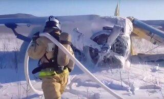 ВИДЕО | В российском аэропорту самолет ударился о землю сразу после взлета