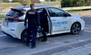 Tallinnas ärandati öösel Elmo Rendi Nissan Leaf