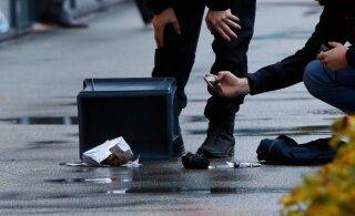 ФОТО | В Мустамяэ задержан мужчина с взрывным устройством. КаПо считает, что теракт он не готовил