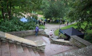 FOTOD | Hirvepargis koguneti traditsioonilisele kõnekoosolekule