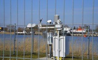 FOTOD   Pärnu linn sai Rannaparki oma ilmajaama