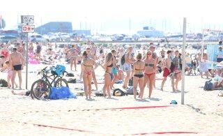 KUUMABLOGI JA FOTOD | Sündis selle suve kuumarekord: Mustvees mõõdeti 33 kraadi sooja! Rannad olid rahvast pilgeni täis ning autode parkimiseks ruumi nappis