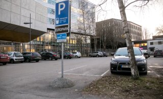 EuroPark поднял цены на девяти парковках в центре Таллинна