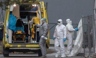 ГРАФИК | За сутки в Эстонии коронавирус выявили у 618 человек. Умерло четверо пациентов