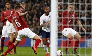 Jalgpalli EM-valikmängud: Inglismaa purustas Tšehhi, Leedu kaotas Luksemburgile
