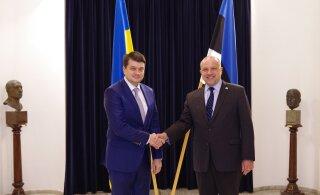 Министр Юри Луйк и спикер Верховной Рады: Эстония и Украина продолжают тесно сотрудничать в области обороны