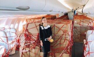 FOTOD | Aja märk. Finnairi stjuardess pidi teenindama hoopis teistsugust reisi