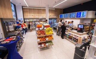 ФОТО: В Таллинне открылся первый экспресс-магазин Maxima