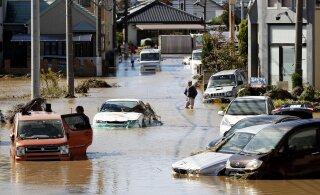 Число погибших из-за тайфуна в Японии достигло 33 человек