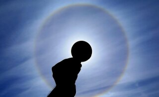 ФОТО: В небе над западом Эстонии можно было наблюдать редкий оптический феномен