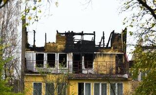 ФОТО | Трагедия в Вильянди: погибшие в пожаре пытались сами потушить огонь, но оказались в западне