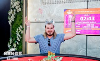 Эстонский игрок в покер выиграл в Таллинне 105 000 евро