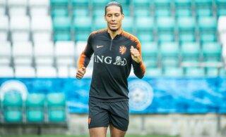 Hollandi tähtmängija jätab EM-valikmängu Eestiga vahele