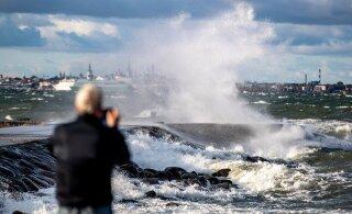 FOTOD ja BLOGI | Ilmateenistus hoiatab sügistormi eest