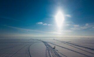 С 19 января в Западной Эстонии разрешен выход на морской лед