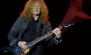 У солиста группы Megadeth Дэйва Мастейна обнаружили рак горла