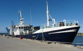 Задержанное в Калининграде судно с эстонскими моряками освобождено под залог в 720 000 евро