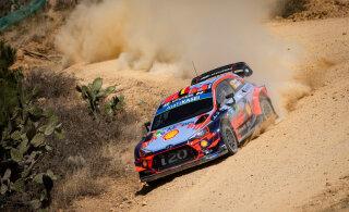 WRC tiitlivõitluses kaotusseisu jäänud Hyundai plaanib suvel suurt käiku