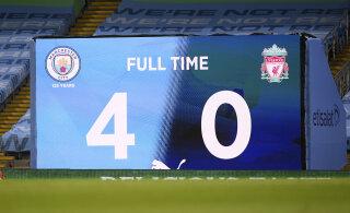 0:4 kaotanud Liverpool kordas Inglismaa meistriliiga antirekordit
