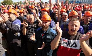 VIDEOD | Valgevene töölised streigivad Lukašenka vastu, teiste seas osalevad MAZ, MTZ, Belšina ja Astravetsi tuumajaam
