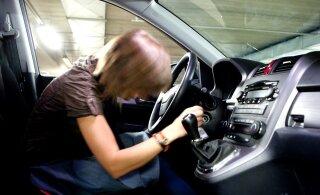 За день по вине женщин-водителей в Эстонии произошло три аварии