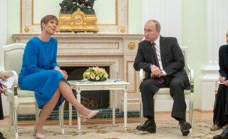 Пресс-конференция Кальюлайд: российская сторона не была инициатором дискуссии на болезненные темы. Я сама рассказала о положении вещей у нас
