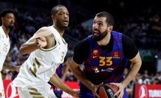 Euroliiga põnevusmängus suutis Madridi Real seljatada Barcelona