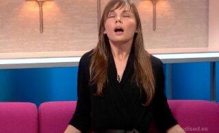 ВИДЕО | Тем временем на эстонском телевидении: поклонница тантры и секс-тренер получила по приказу ведущего оргазм в прямом эфире