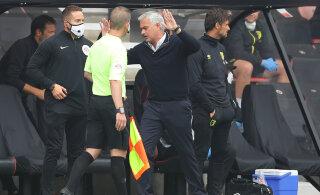 VIDEO | Jose Mourinho oli kohtumise järel tulivihane: kogu maailm teab, et see oli vale otsus
