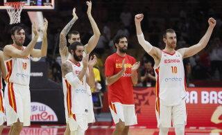 KORVPALLI MM-i BLOGI   Hispaania võit tegi seisu veelgi segasemaks, oodatuim vastasseis võib tulla juba poolfinaalis