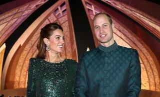 """Кейт Миддлтон и принц Уильям прокатились в Пакистане """"с огоньком"""""""