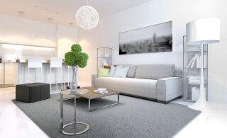 СОВЕТЫ │ Как визуально приподнять низкий потолок?