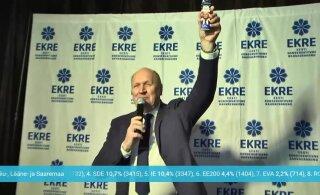 VIDEO   Mart Helme bravuurikas kõne: Loeb see, mida arvab EKRE, mitte Keskerakond või Reformierakond!