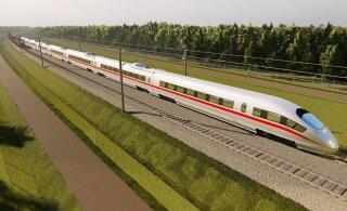 Госконтроль: завершение строительства Rail Baltic в намеченный срок нереалистично. Отставание уже в два года