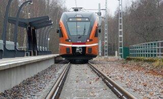 Департамент призывает жителей Эстонии не фотографироваться на железнодорожных путях