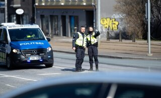 В Мустамяэ сбита девочка, переходившая дорогу на зеленый сигнал светофора. Полиция ищет водителя