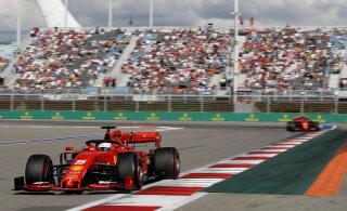 Sotši võib tänavu korraldada kaks F1 etappi