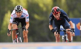 Giro velotuuril löödi paremusjärjestus pea peale