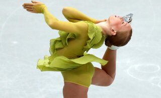 ОНЛАЙН: Молодая эстонская фигуристка удачно откатала короткую программу