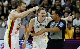 Leedu koondislane kirus kohtunikke: täna ei mängitud korvpalli