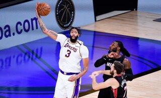 Anthony Davis allkirjastas Lakersiga viie aasta pikkuse hiigellepingu