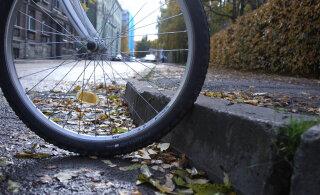 ВИДЕО | ТОП-5 самых проблемных велосипедных дорожек Таллинна. Если там прокатится вице-мэр, их тоже приведут в порядок?