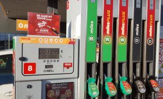 ФОТО | Circle K теперь продает бензин 95 и 98 только без этанола