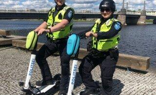 FOTOD | Pärnus hakatakse tõukeratastega patrullima