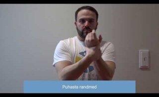 VIDEOÕPETUS | Kuidas kanda kätele antiseptikumi