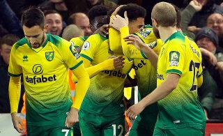 Premier League'i punane latern Norwich üllatas Leicesteri