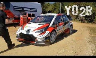 VIDEO   Auto kui tee külge liimitud! Ott Tänak testis Korsika ralliks
