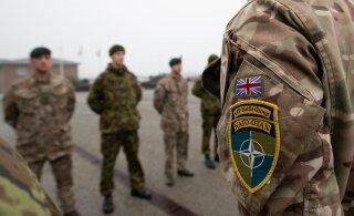 В Тапа умер британский военнослужащий
